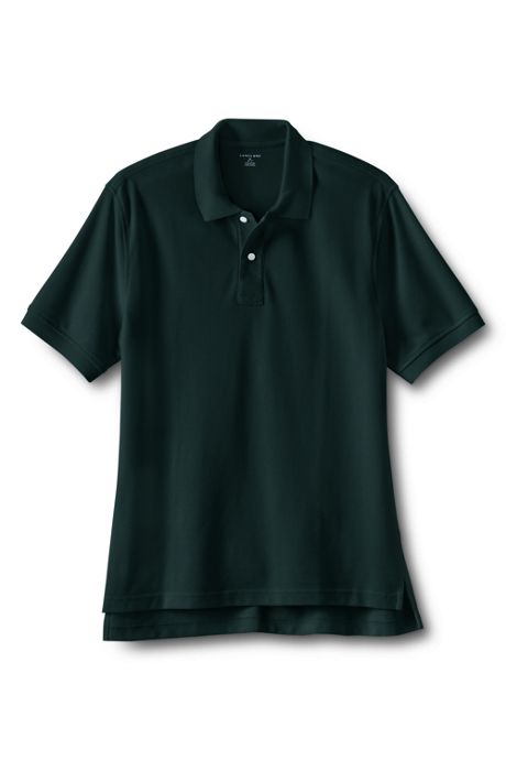 School Uniform Men's Short Sleeve Performance Mesh Polo