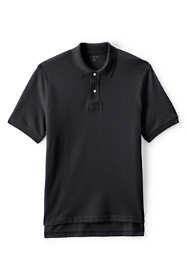 School Uniform Men's Short Sleeve Mesh Polo Shirt