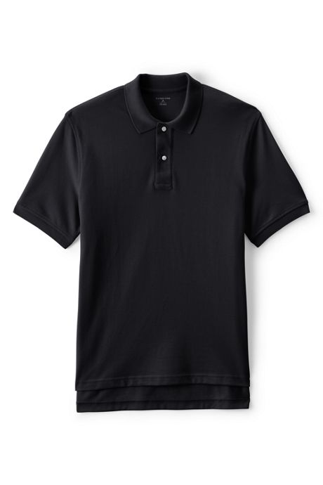 Uniform Men's Short Sleeve Mesh Polo Shirt
