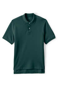 Men's Short Sleeve Mesh Polo Shirt