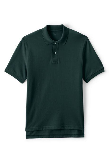 Men's Tall Short Sleeve Mesh Polo Shirt