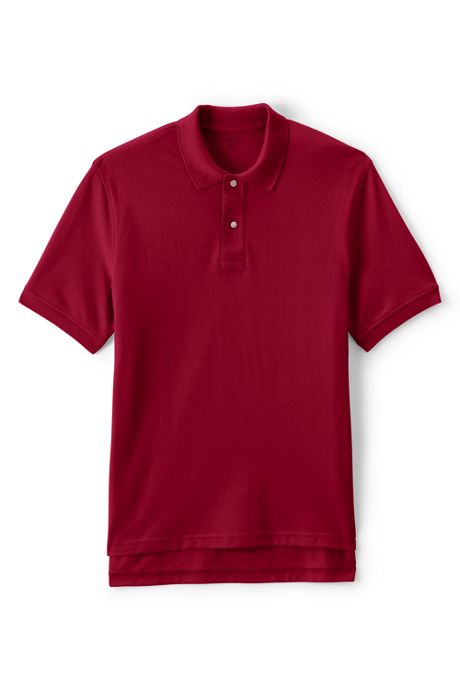 Men's Short Sleeve Performance Mesh Polo