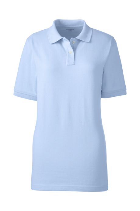 Uniform Women's Short Sleeve Mesh Polo Shirt