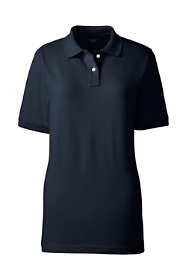 School Uniform Women's Tall Short Sleeve Performance Mesh Polo