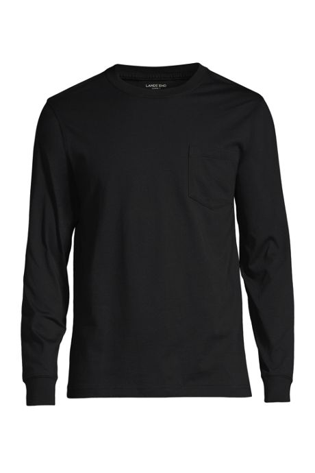 Men's Tall Long Sleeve Super-T with Pocket