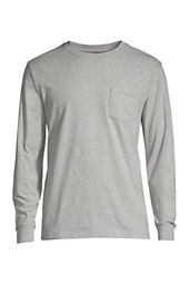 Men's Long Sleeve Super-T with Pocket