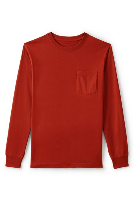 Men's Super-T Long Sleeve T-Shirt with Pocket