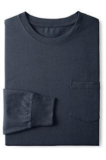 メンズ・スーパーT/ポケット付き/長袖
