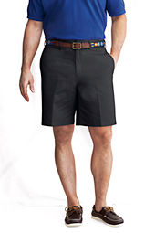 "Men's 9"" Plain Front Chino Shorts"