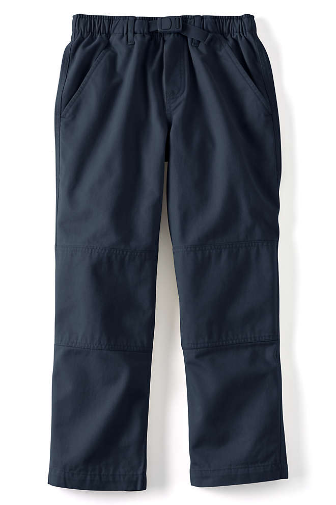 Little Boys Iron Knee Pull On Climber Pants, Front