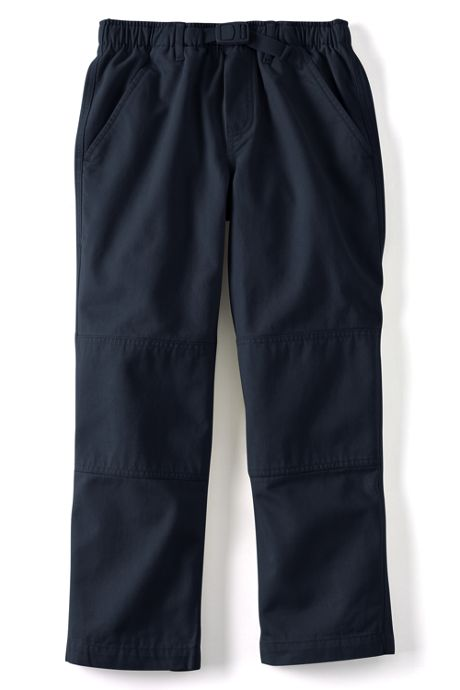 School Uniform Boys Iron Knee Pull On Climber Pants