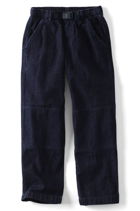 Little Boys Iron Knee Pull On Climber Pants