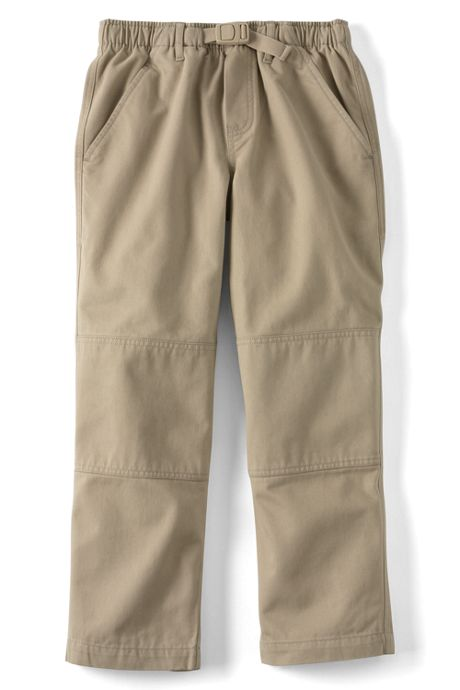Boys Slim Iron Knee Pull On Climber Pants