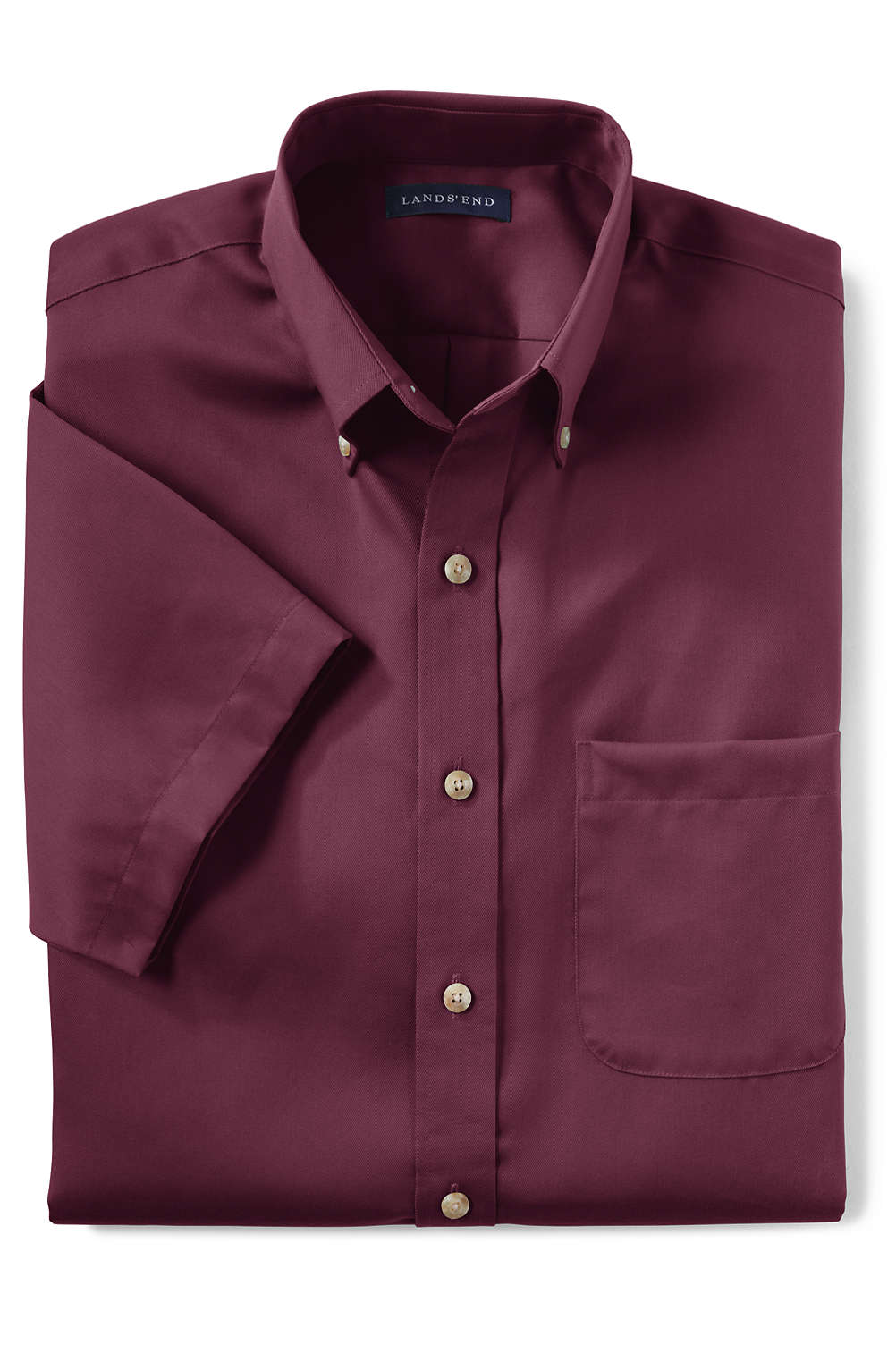 57a5da2ef Men s Performance Twill Shirt from Lands  End