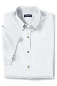 Men's Big Short Sleeve Performance Twill Shirt