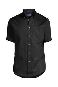 School Uniform Men's Short Sleeve Performance Twill Shirt