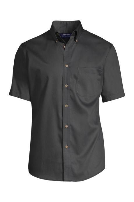 Men's Tall Short Sleeve Performance Twill Shirt