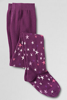 Girls' Pattern Tights