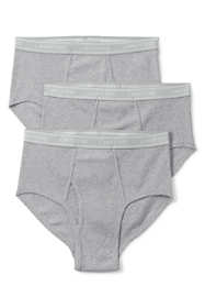 Men's Big Knit Underwear 3 Pack - Briefs