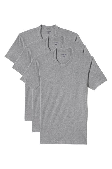 Men's Tall Crewneck Undershirt 3 Pack