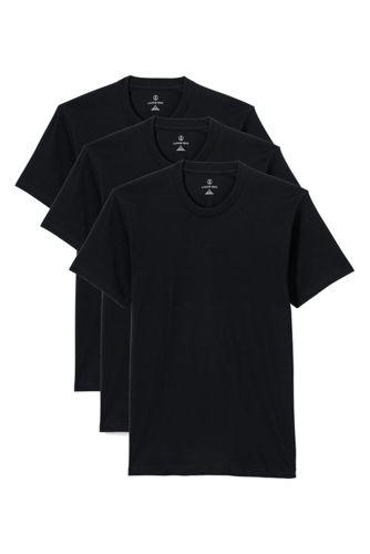 Le T-Shirt Col Rond (lot de 3), Homme Stature Standard