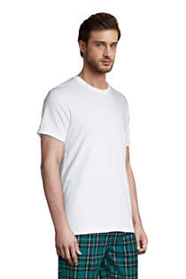 Men's Tall Crewneck Undershirt 3 Pack, alternative image