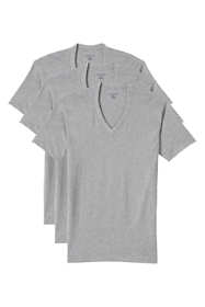 Men's Tall V-Neck Undershirt 3 Pack