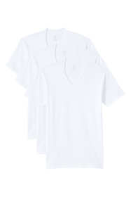 Men's Big & Tall V-neck T-shirt (3-pack)