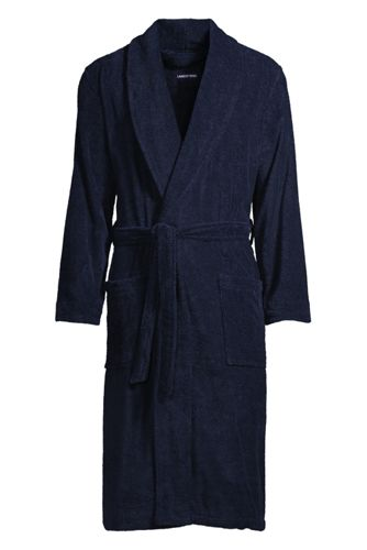 Men's Calf Length Turkish Terry Robe