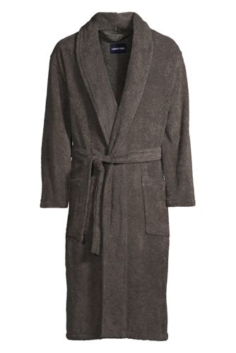 Men's Regular Turkish Terry Bath Robe