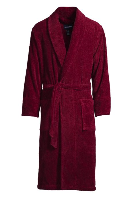 Men's 14 ounce Calf Length Turkish Terry Robe