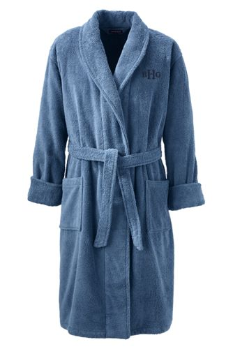 Men's Regular Turkish Terry Bath Robe