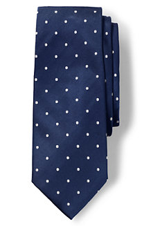 Men's Churchill Dot Hand-sewn Silk Tie