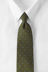 Men's Silk Churchill Dot Necktie