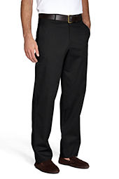 Men's Plain Front Blend Chino Pants