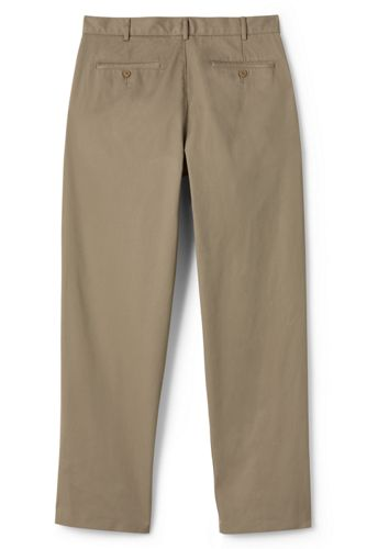 Men's Blend Plain Front Chino Pants