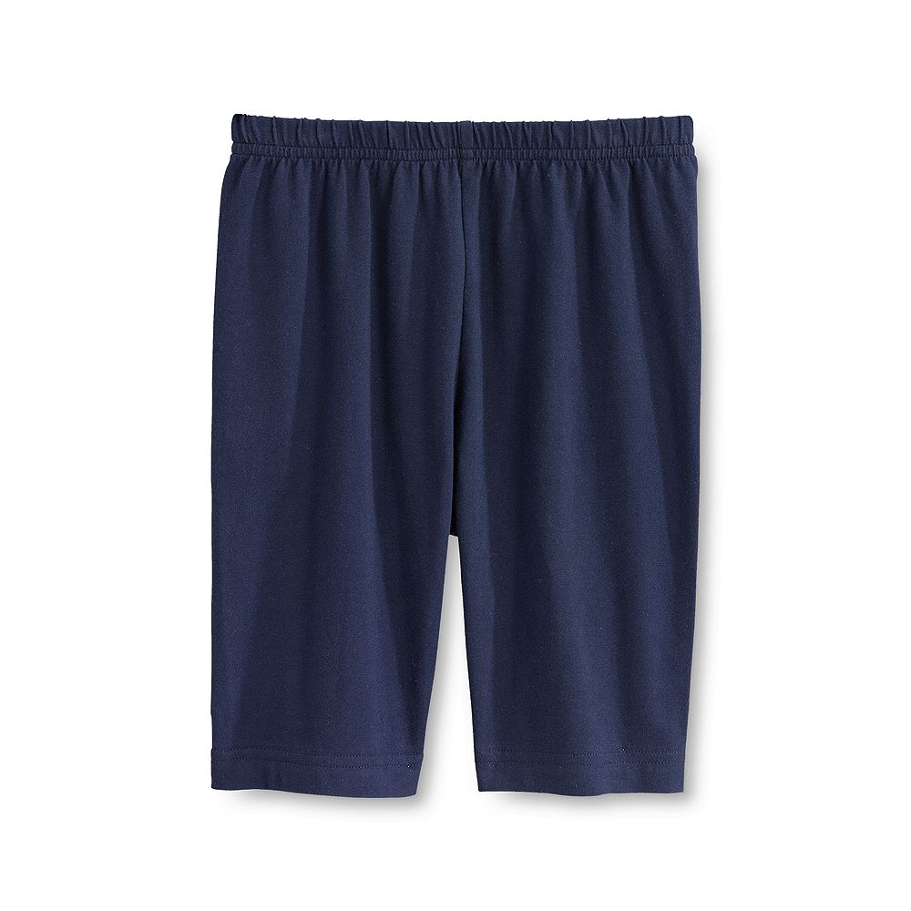 Lands' End School Uniform Little Girls' Solid Bike Shorts at Sears.com