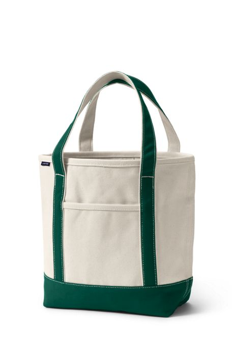 School Uniform Medium Open Top Canvas Tote