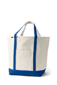 School Uniform Large Open Top Canvas Tote