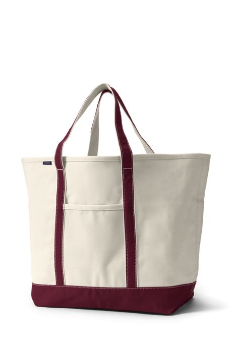 Extra Large Open Top Canvas Tote