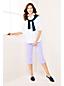 Interlock-Capris mit Gummizugbund für Damen