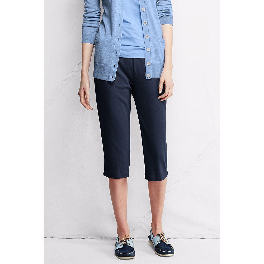 Lands' End Women's Tall Fit 3 Sport Knit Capri Pants at Sears.com