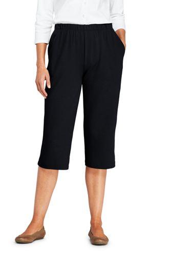 Women's Regular Sport Knit Capris