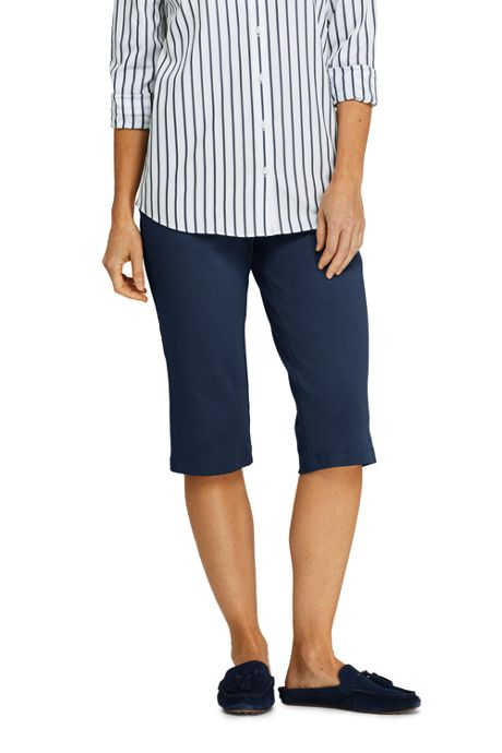 Women's Tall Sport Knit Capri Pants