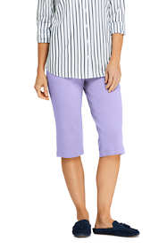 Women's Petite Sport Knit Capri Pants