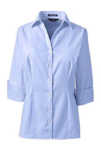3 4 Sleeve Dress Shirts For Women