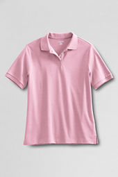 Women's Short Sleeve Classic Fit Pima Polo Shirt