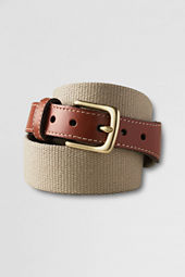 Men's Cotton Buckle Belt