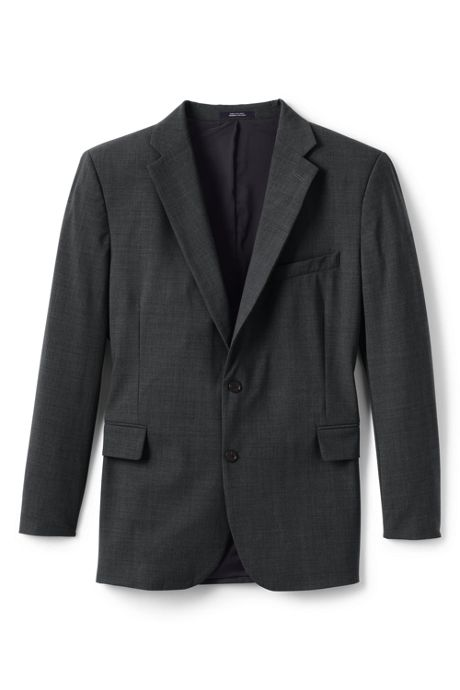 Men's Washable Wool Suit Coat