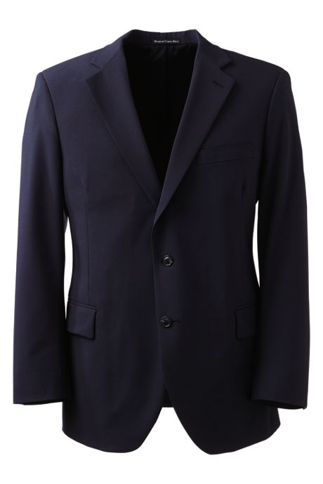 Men's Big Dress Code Washable Wool Blend Suit Coat